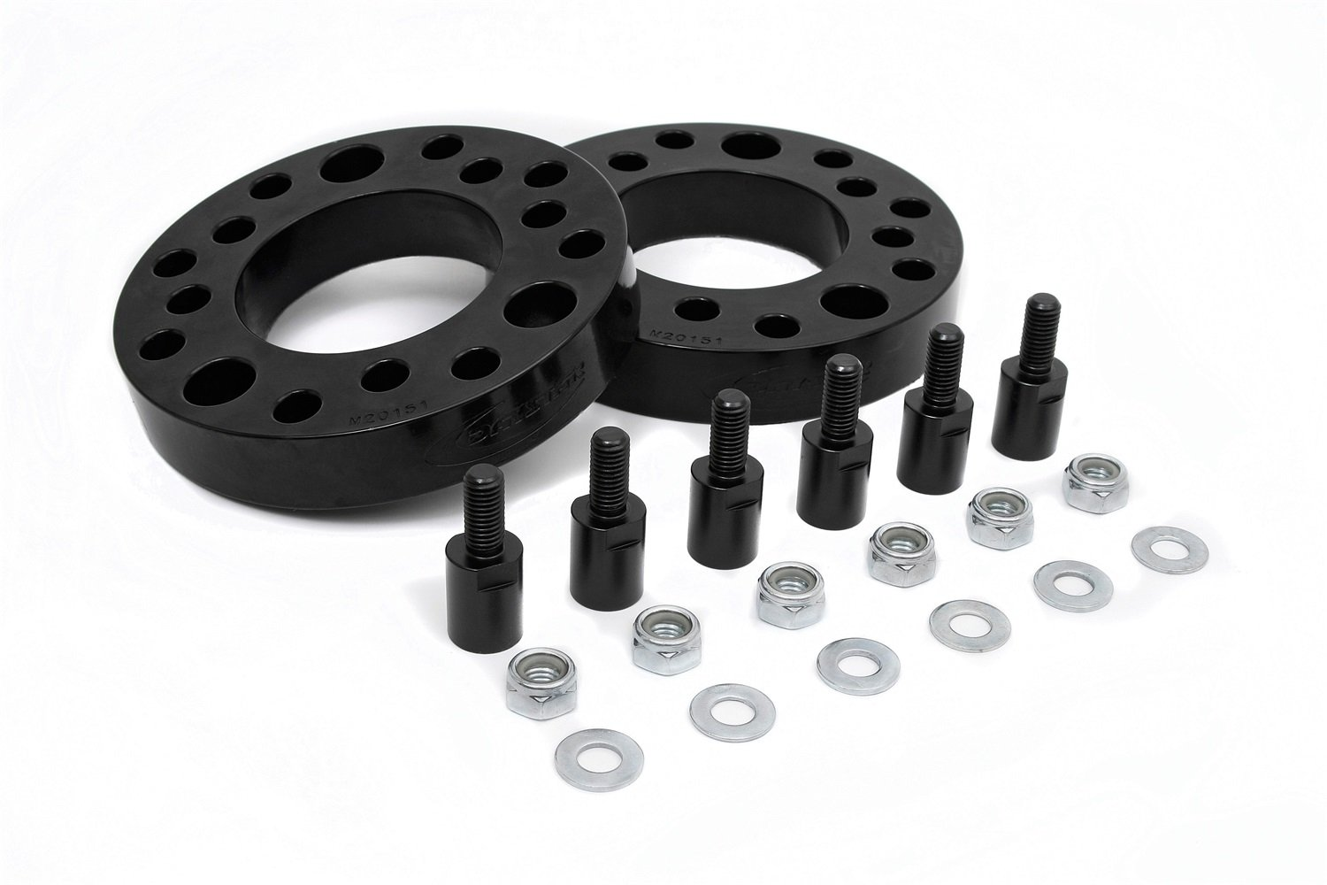 Daystar KF09124BK 2-Inch Front Suspension Lift Coil Spring Spacer Kit with Hardware