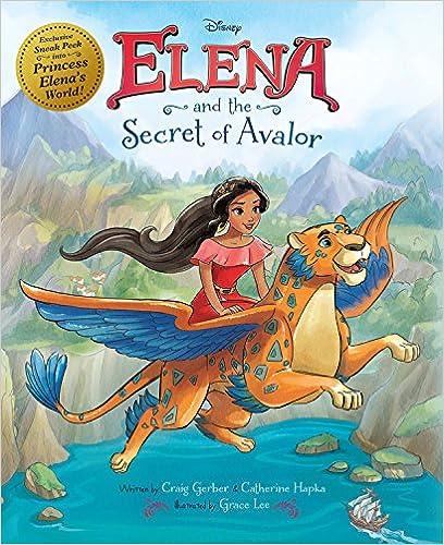 Book Elena of Avalor: Elena and the Secret of Avalor