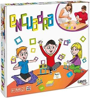 Cayro - Encuadra - Juego de observación y razonamiento lógico - Juego de Mesa - Desarrollo de Habilidades cognitivas e inteligencias múltiples - Juego de Mesa (338): Amazon.es: Juguetes y juegos