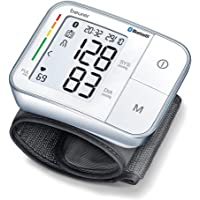 Beurer BC 57 Handgelenk-Blutdruckmessgerät, mit App-Anbindung via Bluetooth, Medizinprodukt