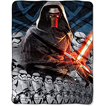Star Wars Episode VII: The Force Awakens Lead Force 40 x 50 Silk Touch Throw