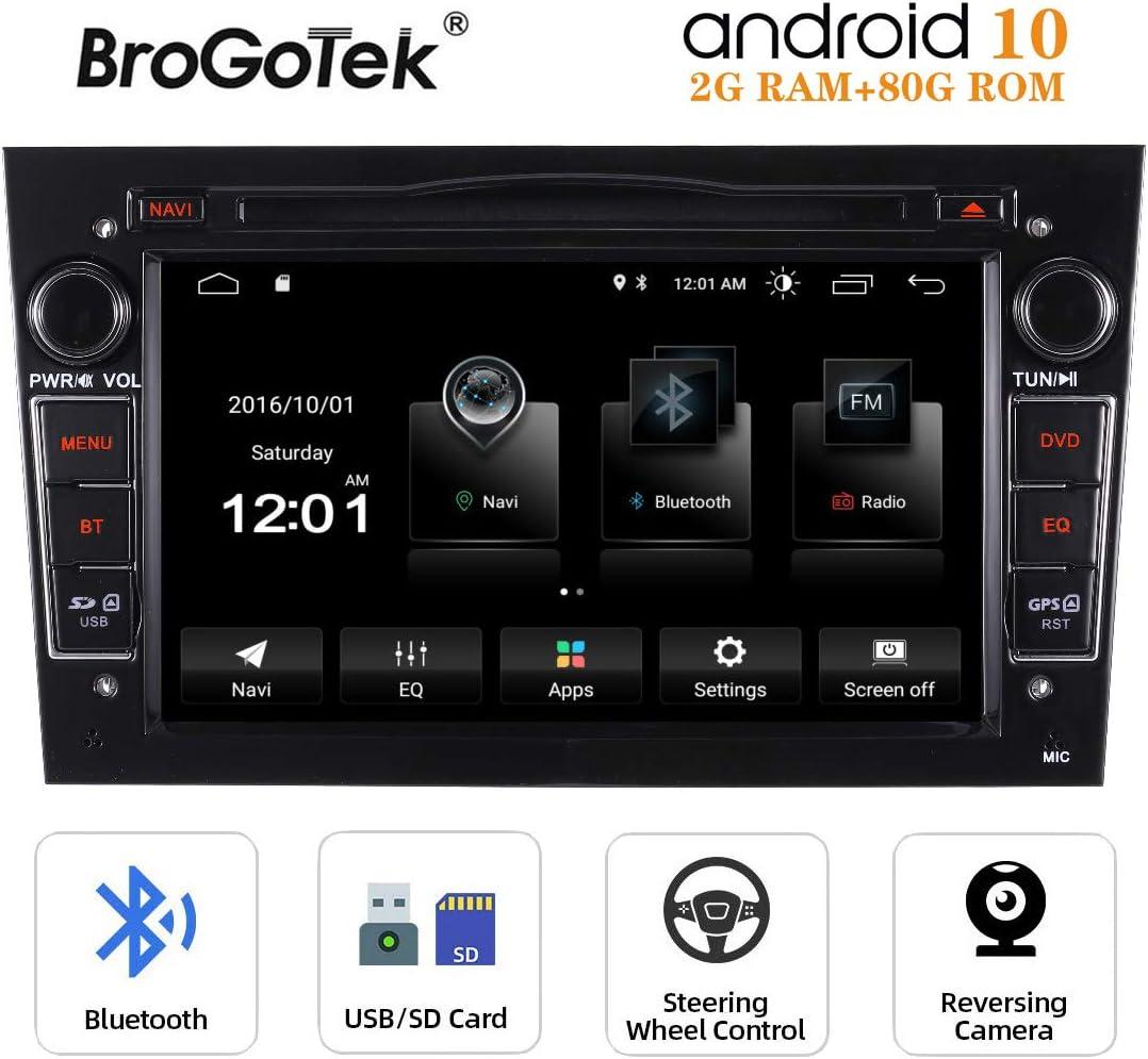 "Pumpkin 7/"" Android 9.0 Autoradio GPS Navi CD Für Opel Astra Corsa Vectra+Kamera"