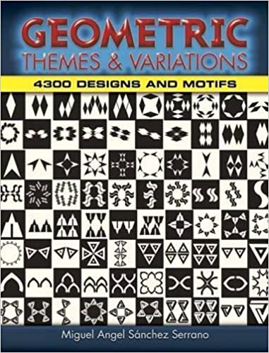 Book Geometric Themes and Variations: 4,300 Designs and Motifs (Dover Pictorial Archive) by Miguel Angel Sanchez Serrano (2008-04-25)