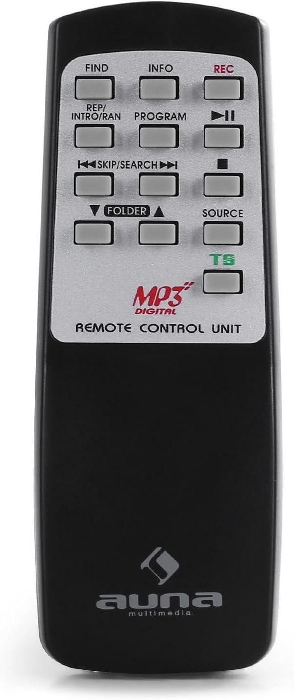 Auna 10018519 Nr-620 Tocadiscos Reproductor de Vinilos y CD ...