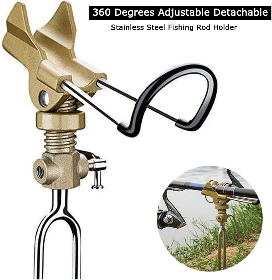 Stainless Steel Fishing Rod Rest Fishing Rod Stand Bracket
