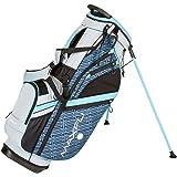 Maxfli Women's 2018 Stand Golf Bag - 6 Way - 8 Pockets - Teal/Gray/Black