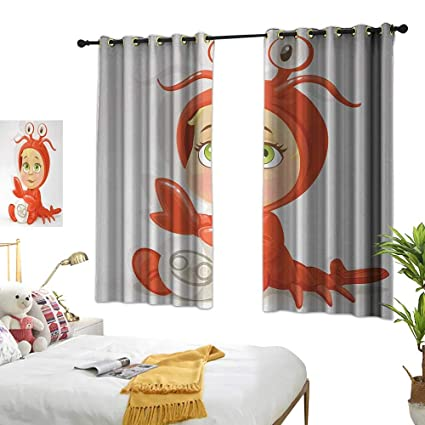 Amazon com: Thermal Insulated Drapes for Kitchen/Bedroom