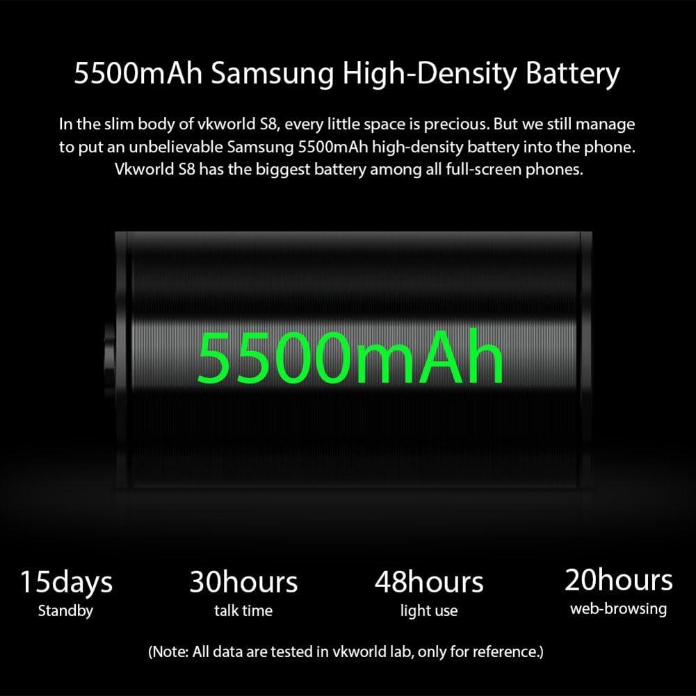 Phone EU, Vkworld S8 Smartphone Face ID 4G Teléfono Móvil 4GB RAM ...