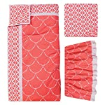 Trend-Lab-Shell-3-Piece-Crib-Bedding-Set-CoralWhite