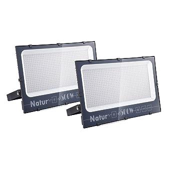 NATUR Foco LED para exterior, kit proyector de moda ligero, faro ...