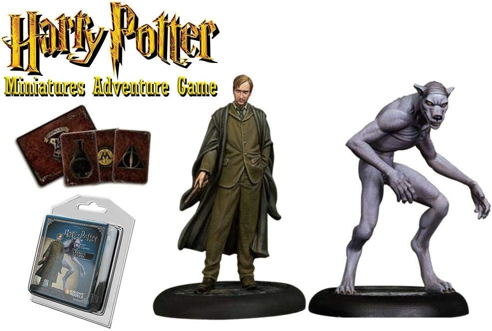 Knight Models Juego de Mesa - Miniaturas Resina Harry Potter Muñecos Remus Lupin Expansion Pack, versión inglesa