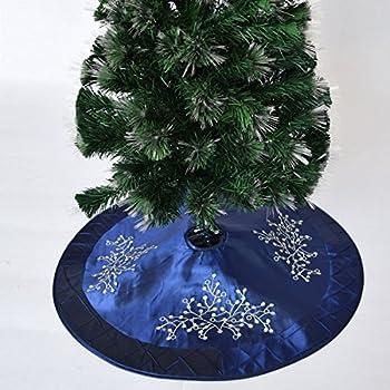 Let It Snow Tree Skirt. Christmas Tree SkirtsEmbroidery ...