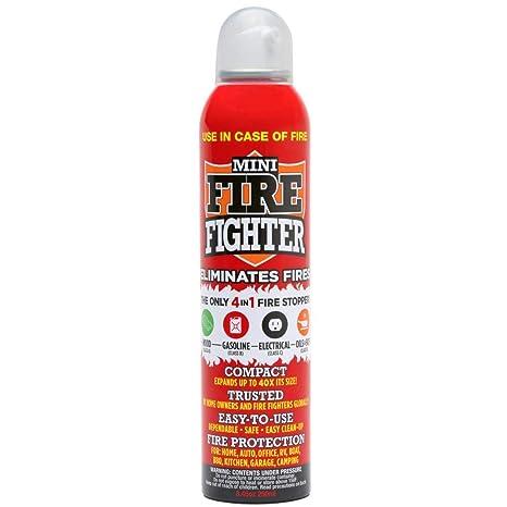 Amazon.com: Mini Firefighter MFF01 extintor multiuso 4 en 1 ...
