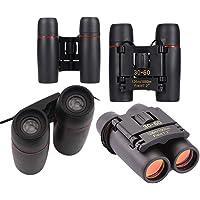 BSITFOW 30 X 60 Zoom Mini Travel Folding Day Night Vision Binoculars Telescope Night Vision for Outdoor Activity Hiking, Climbiing, Birdwatching, Boating Etc- Binoculars