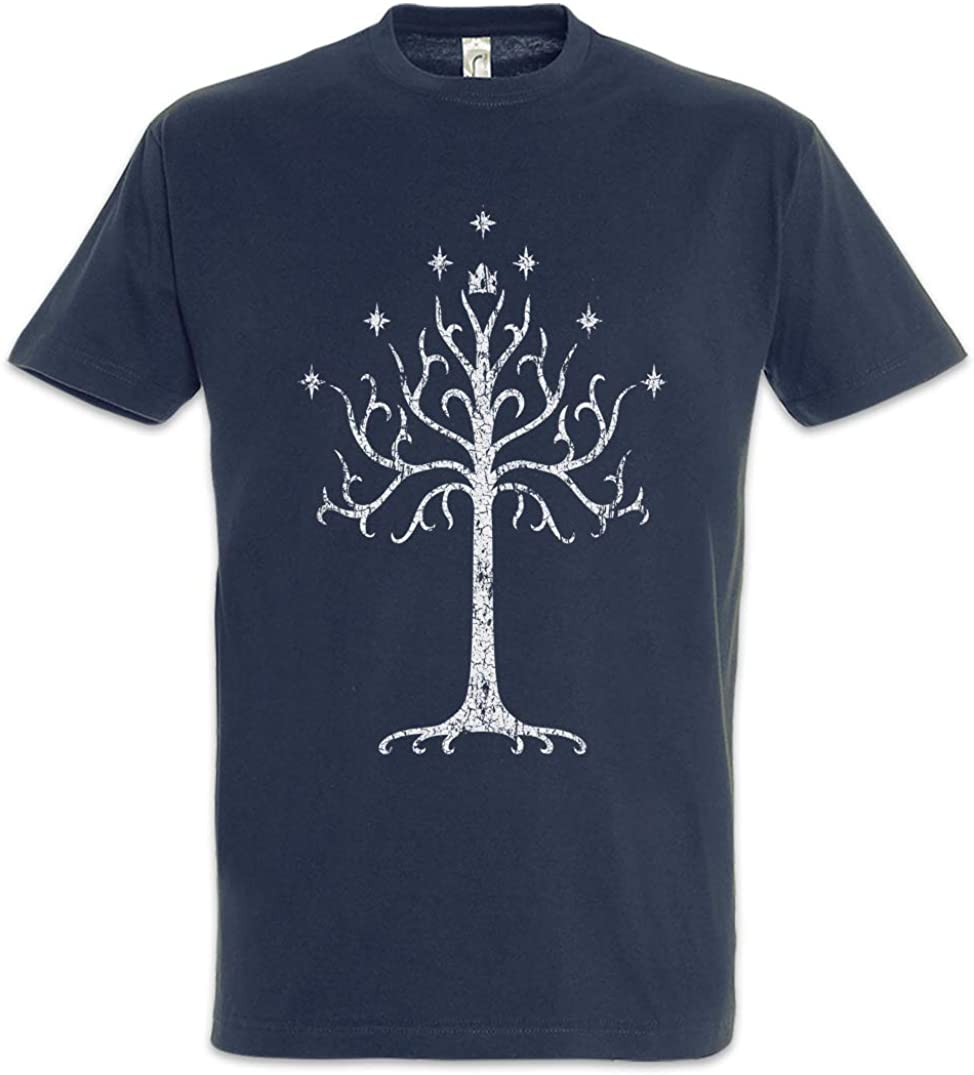 Urban Backwoods White Tree Camiseta De Hombre T-Shirt