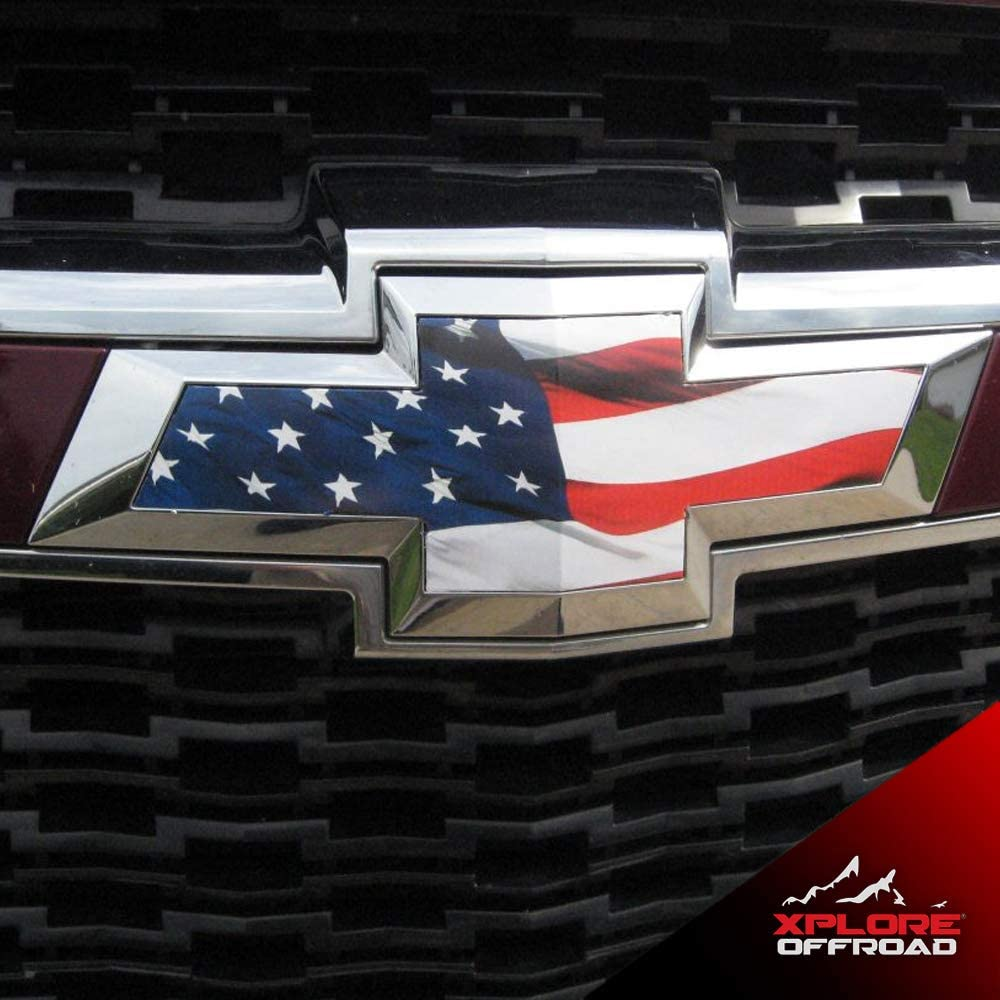 Color Toyota Lexus 3M Graphic Vinyl Emblem Overlay Kit Infiniti for Chevy GMC XPLORE OFFROAD Subaru Ford
