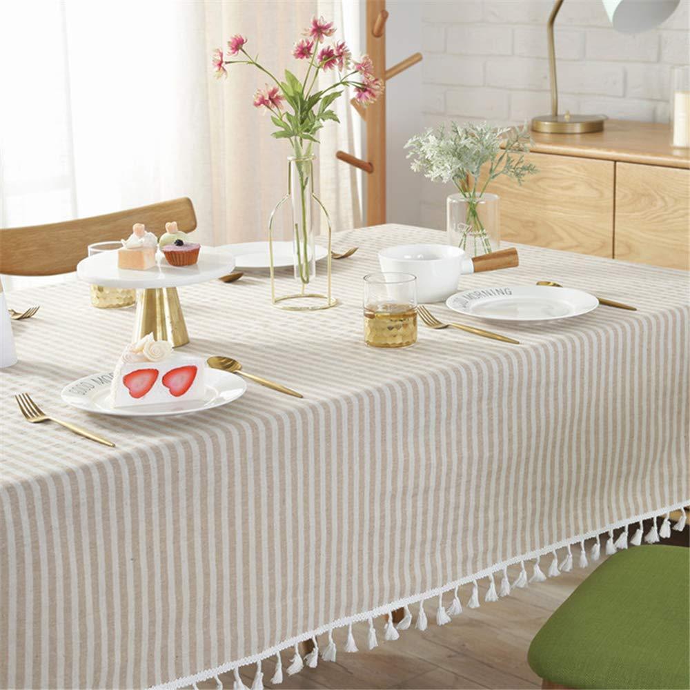 pour Cuisine/Salon/Jardin Décoration Flax Red Stripe 60x60cm ...