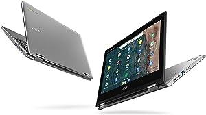 "Acer Chromebook Spin 311 CP311-2H-C3KA Convertible Laptop, Intel Celeron N4000, 11.6"" HD Touchscreen, 4GB LPDDR4, 64GB eMMC, Gigabit WiFi, Bluetooth 5.0"