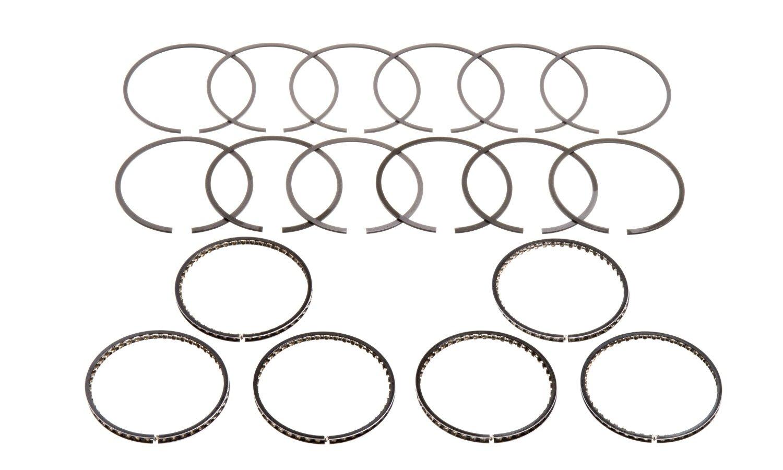 Hastings 2M4781 6-Cylinder Piston Ring Set