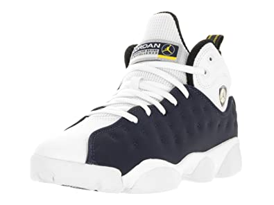 JORDAN KIDS JUMPMAN TEAM II (BG) MID NAVY WHITE VARSITY MAIZE SIZE 4.5