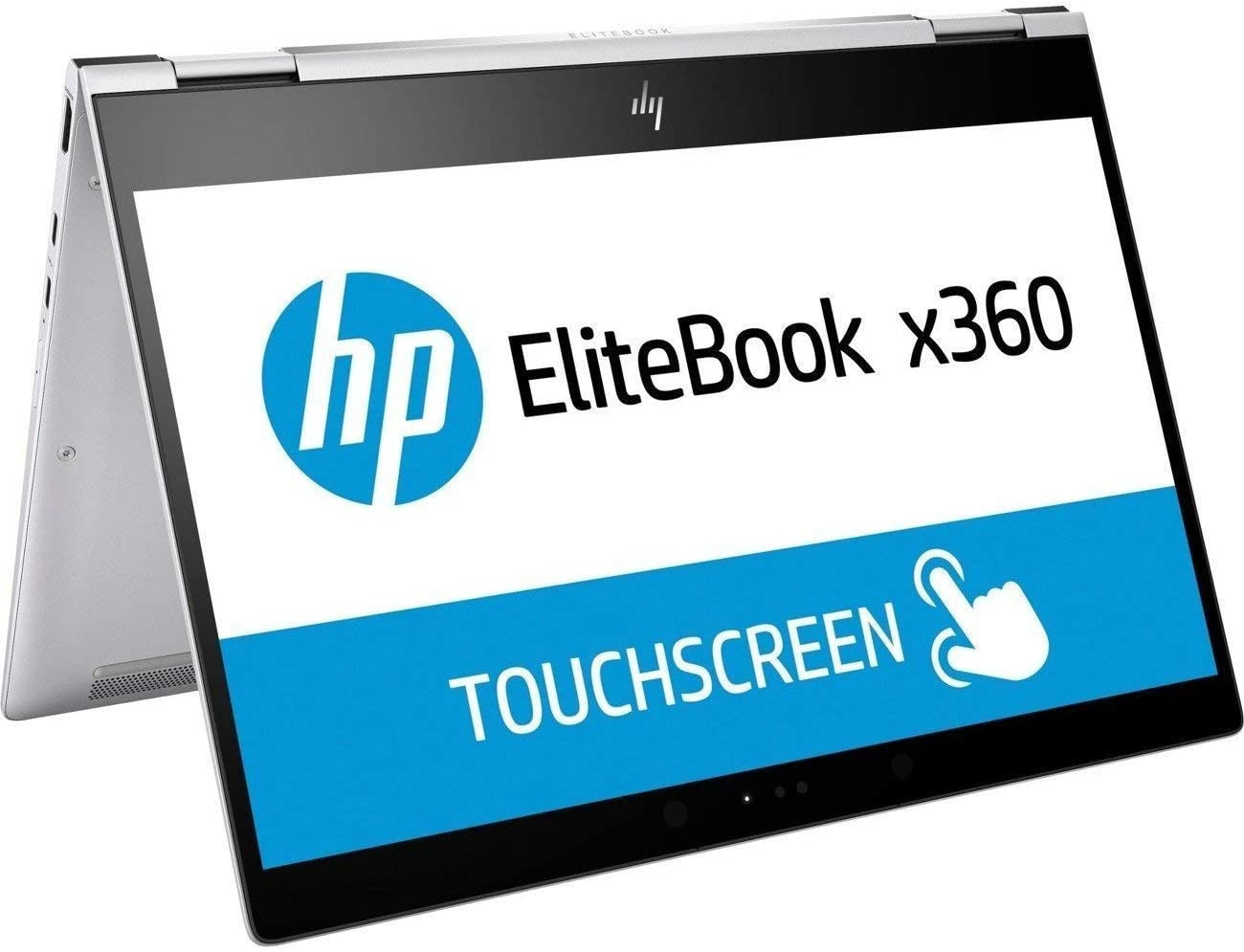 "HP 2UE50UT#ABA Elitebook X360 1020 G2 12.5"" Flip Design Notebook, Windows, Intel Core I7 2.8 Ghz, 8 GB Ram, 256 GB SSD, Silver"