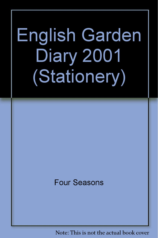 English Garden Diary 2001