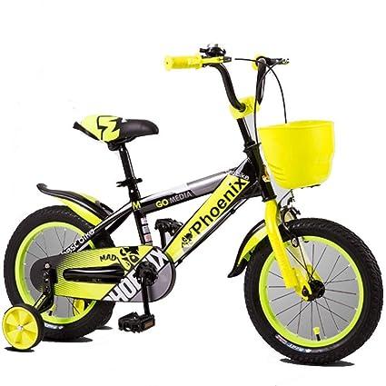 Cochecito KidS Bike, Bicicletas Para Niños Con Formación Ruedas 12/14/16/