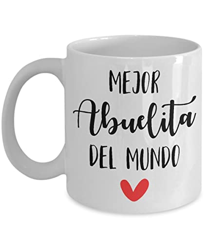 grandma coffee mug (abuelita Spanish) grandma gifts for mothers day