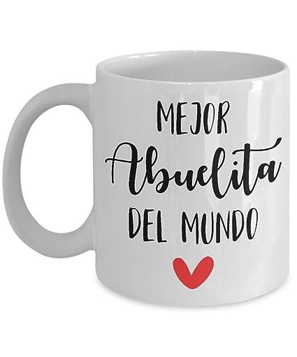 grandma coffee mug (abuelita Spanish) grandma gifts for mothers day