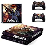 YYXLINE Fallout 4 Wrap Body Skin Decal Sticker Aufkleber per Playstation 4 PS4 Console+Controllers High Quality