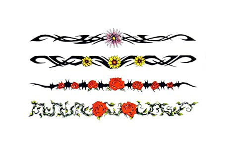 d47a03cb0553c Image Unavailable. Image not available for. Colour: Temporary Tattoo 3D Rose  ...