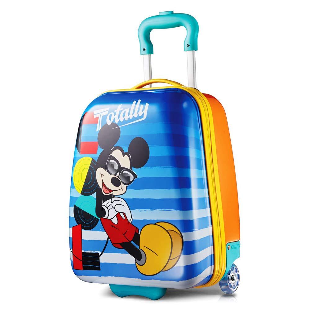 ディズニー ミッキーマウス キャリーバッグ ハード スーツケース キッズ American Tourister (アメリカンツーリスター) [並行輸入品] B07SD4V6KH ミッキーマウス キャリーバッグハード