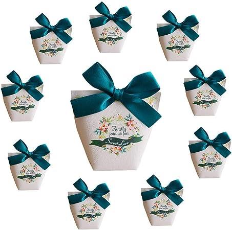 Lumanuby 10 Piezas El mago de oz Cajas para dulces bombones Caja kraft de boda regalo Cajita dorado para boda bautizo cumpleaños Navidad graduación comunión: Amazon.es: Hogar
