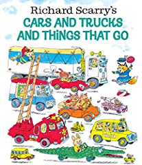 It's time to start your engines in this Richard Scarry classic all about vehicles! Buckle-up for a fun-filled day of planes, trains, automobiles . . . and even a pickle truck! Featuring hundreds of clearly labeled vehicles, this is the perfec...