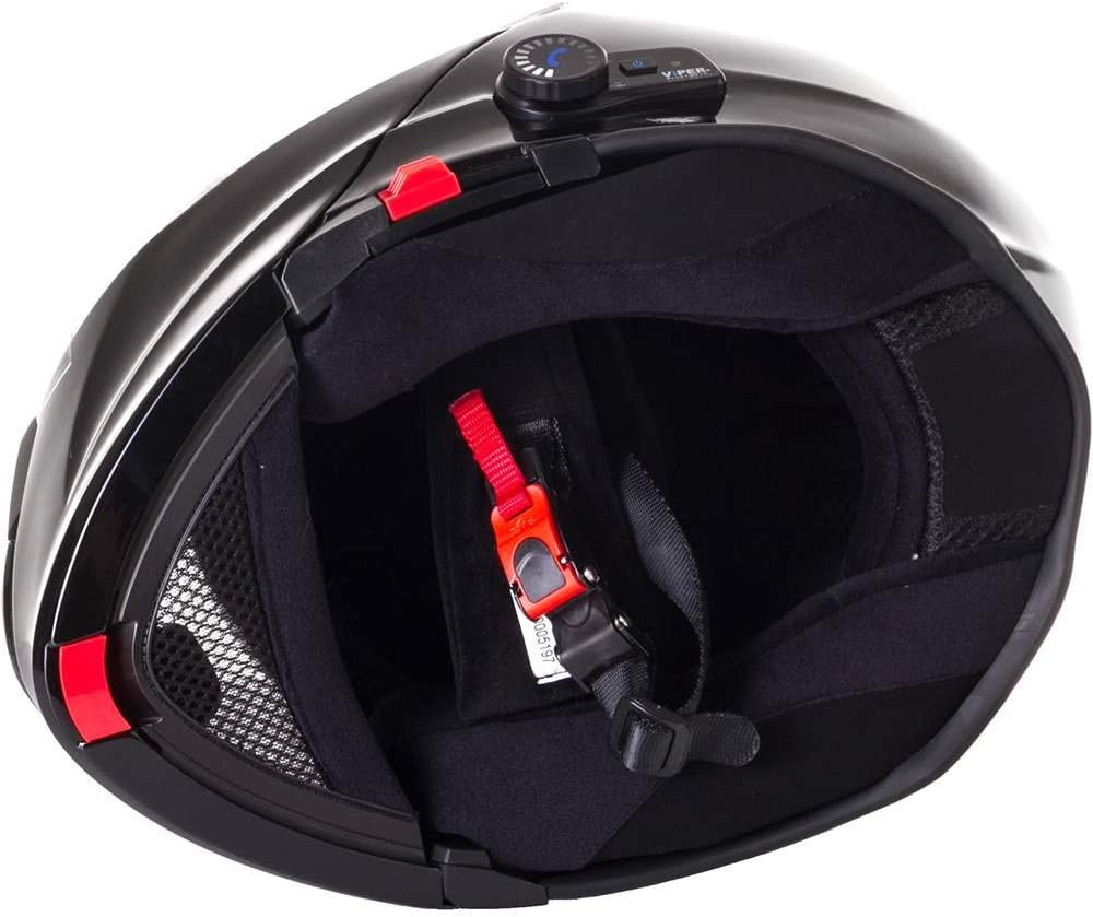 Black Viper RS-V171 BL 3.0 Bluetooth Flip-Up Motorcycle Helmet