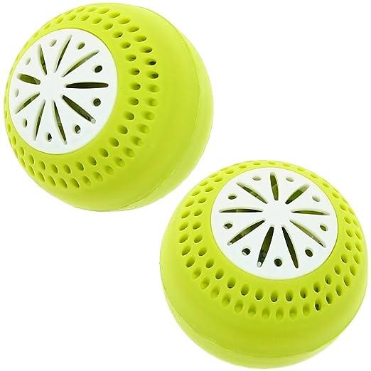 Lote de 2 bolas para la nevera, ambientador antiolores Freshball ...