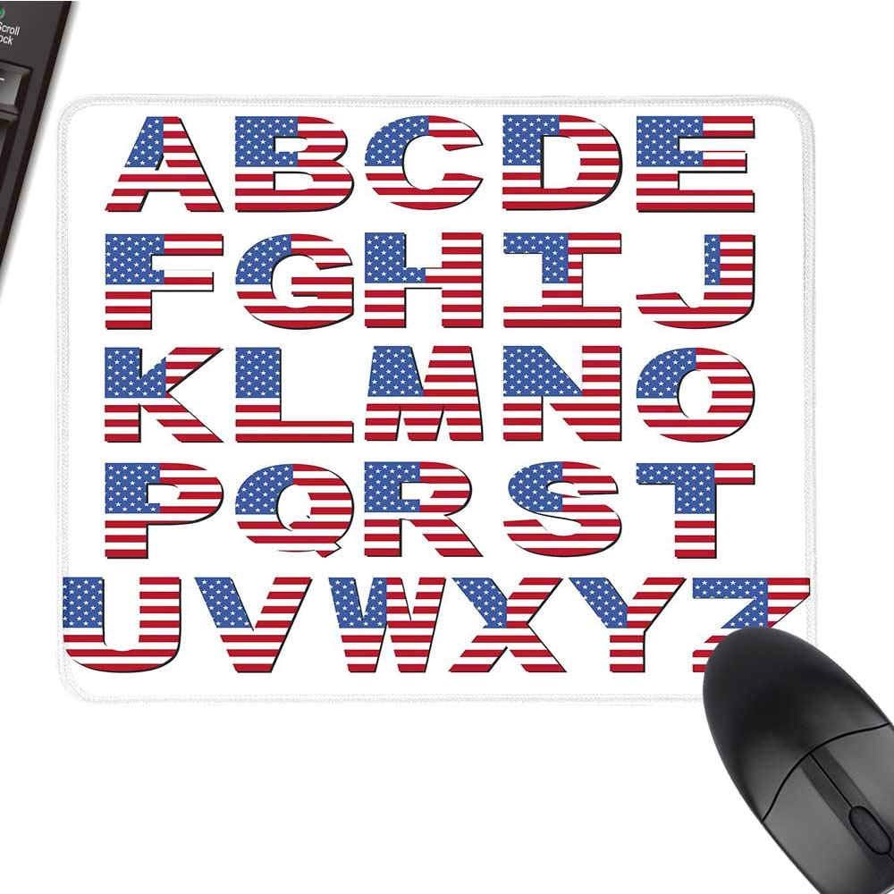 Zcomputer 文字 マウスパッド ゴシックデザイン 初期中世の時代 アルファベット 最後の文字 Z モノクロ ブラッククロス マウスパッド 9.8インチx11.8インチ ブラックホワイト 15.7