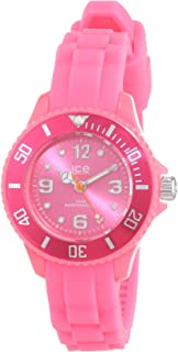 Ice-Watch - Ice Forever Pink - Montre Rose pour Fille avec Bracelet en  Silicone bb5d5121c213
