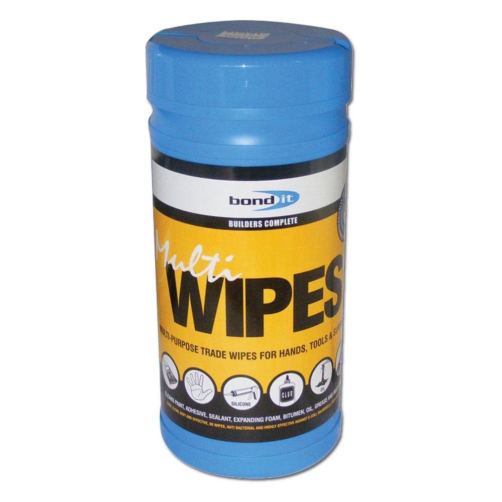 Bond It BDHW80 Trade Multi Purpose Cleaning Wipes by Bond-it