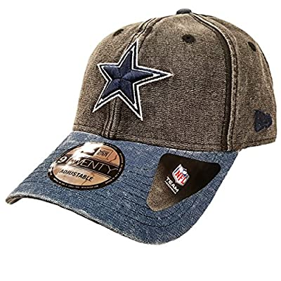 New Era 9Twenty Rugged Canvas Dallas Cowboys Strapback