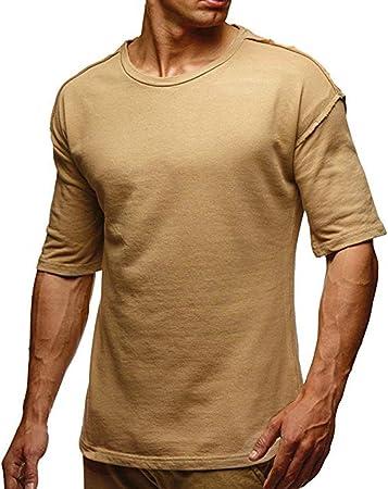 Hombre Deporte Camiseta sin Mangas de Secado Rápido para Running ...