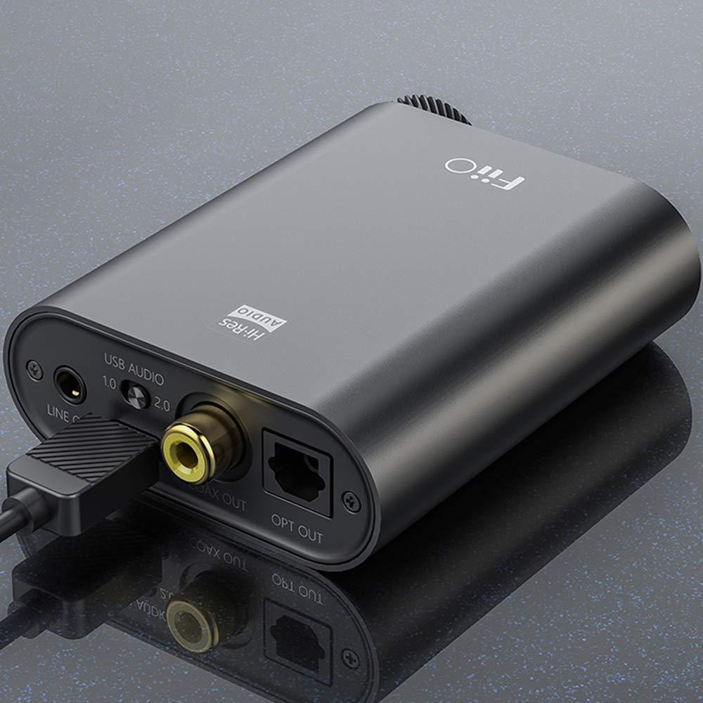 Nero FiiO K3 DAC USB-C con Amplificatore per Cuffie