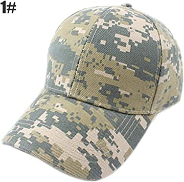 Pudincoco Gorras de béisbol Militares Camuflaje Gorras tácticas al ...