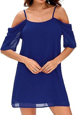 46ad7e84342a MAGIMODAC Damen Longshirt langes Kleid Shirtkleid Tops Oberteile Freizeitkleid  Strandkleid Tunika Minikleid Locker  Amazon.de  Bekleidung