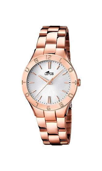 ac8b50d95416 Lotus 0 - Reloj de cuarzo para mujer