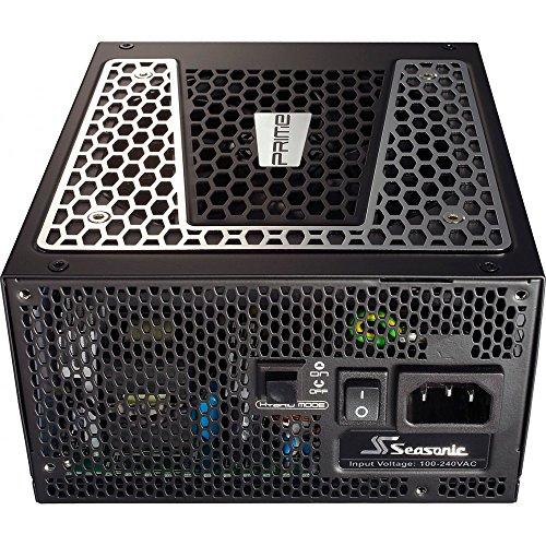 seasonic 750w 80 plus titanium atx12v power supply with active pfc