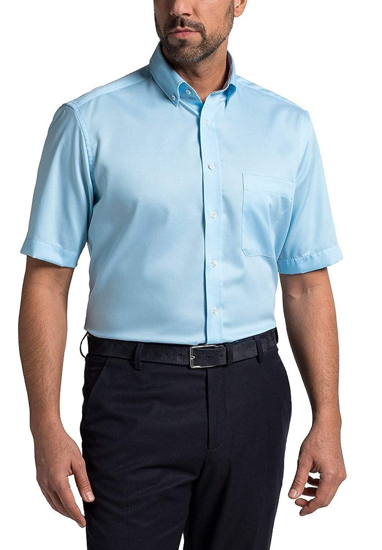 TALLA W47, longitud Kurzarm. Eterna Half Sleeve Shirt Comfort Fit Fancy Weave Structured