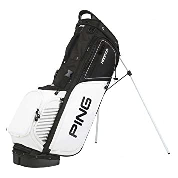 Ping Hoofer - Bolsa de Golf, Color Negro y Blanco: Amazon.es ...