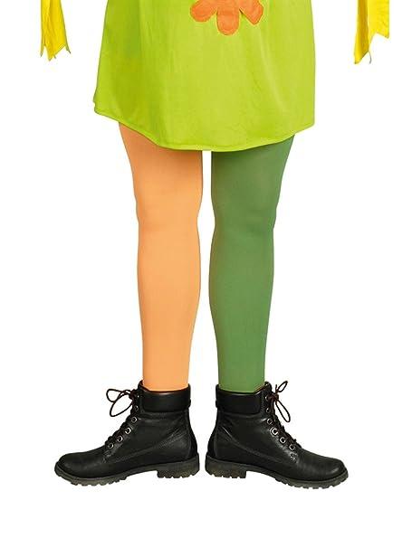 Calcetines largos, 1 de cada verdes + 1 naranja: Amazon.es: Ropa y accesorios
