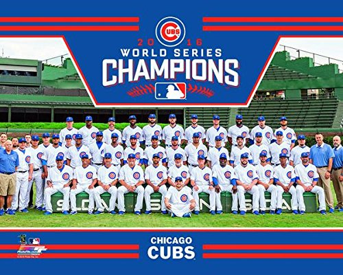 Chicago Cubs 2016 World Series Champions Team Photo 8